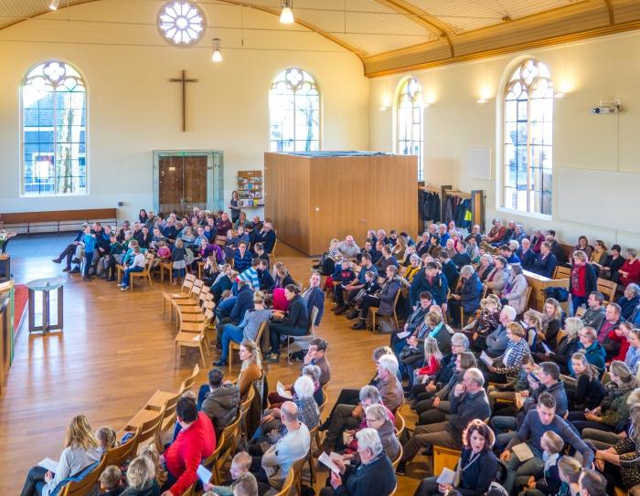 Geslaagde Kerk- en Schooldienst