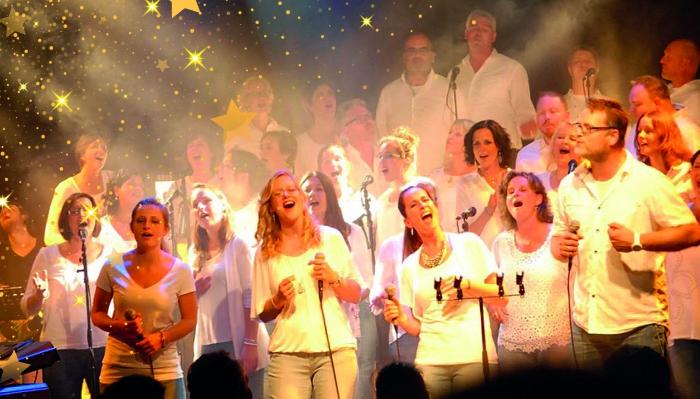 MessAgedienst met The Young Church Singers in Vaassense Dorpskerk