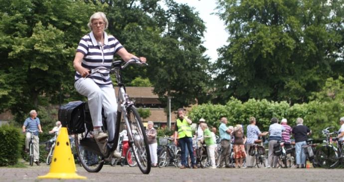 Fietsinformatiedag voor alle oudere actieve fietsers