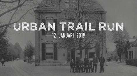 Trailrun door gemeentehuis Epe